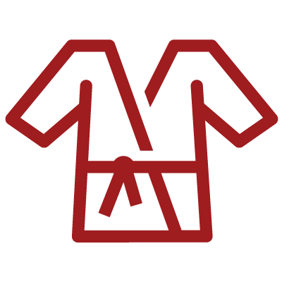 red colour gi icon